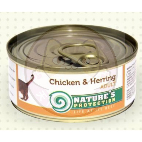 Nature's Protection Chicken & Herring 100g 保然人類食用級主食罐雞+鯡魚